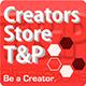 Creators Store T&P