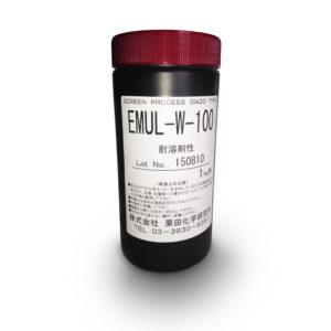 プラスティゾルインク用 高解像度ジアゾ感光乳剤 EMUL-Wシリーズ