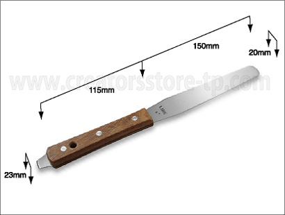 木製ハンドルインクナイフ