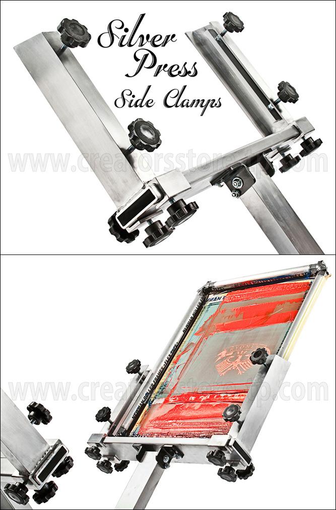 シルバープレス専用サイドクランプ